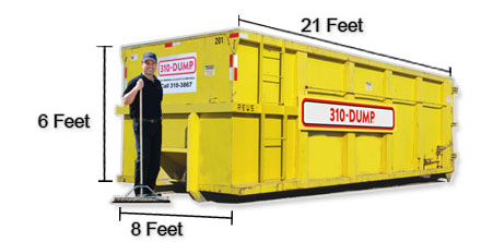 30 Yard Roll-Off Dumpster Bin